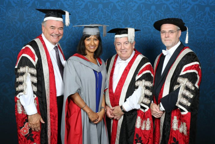 David Taylor, Ranvir Singh, Richard Evans and Mike Thomas