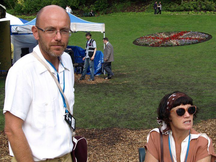 Wayne Hemingway supporting the 2012 Preston Guild Pic: Tony Worrall