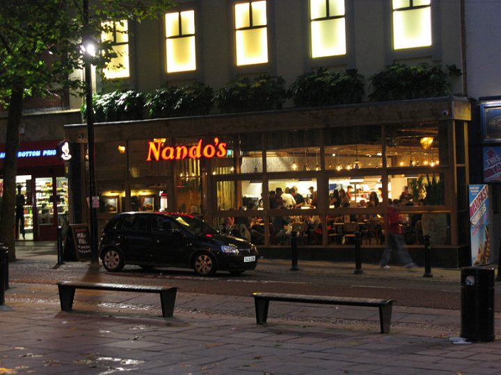 Nandos in Preston city centre Pic: George D Thompson