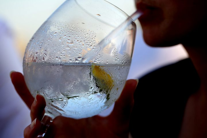 A refreshing gin and tonic PIc: Jenny Downing