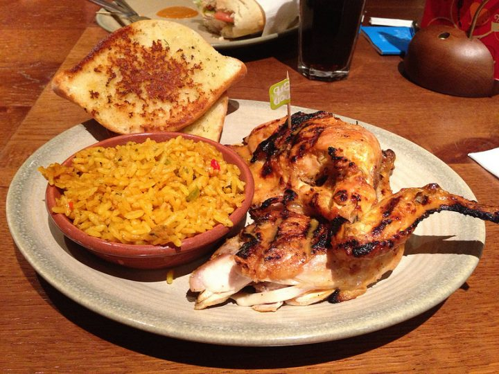 Nandos set meal Pic: David Woo