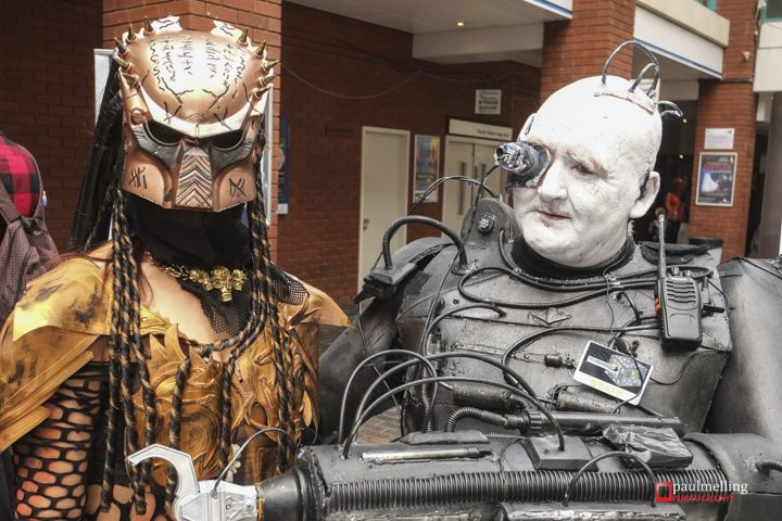 Preston Comic Con event in the Guild Hall. Pic: Paul Melling