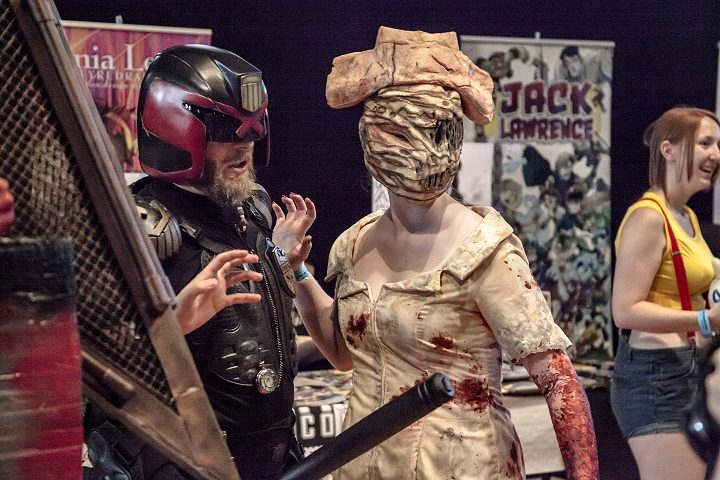 Preston Comic Con event in the Guild Hall. Pic: Robin Utracik