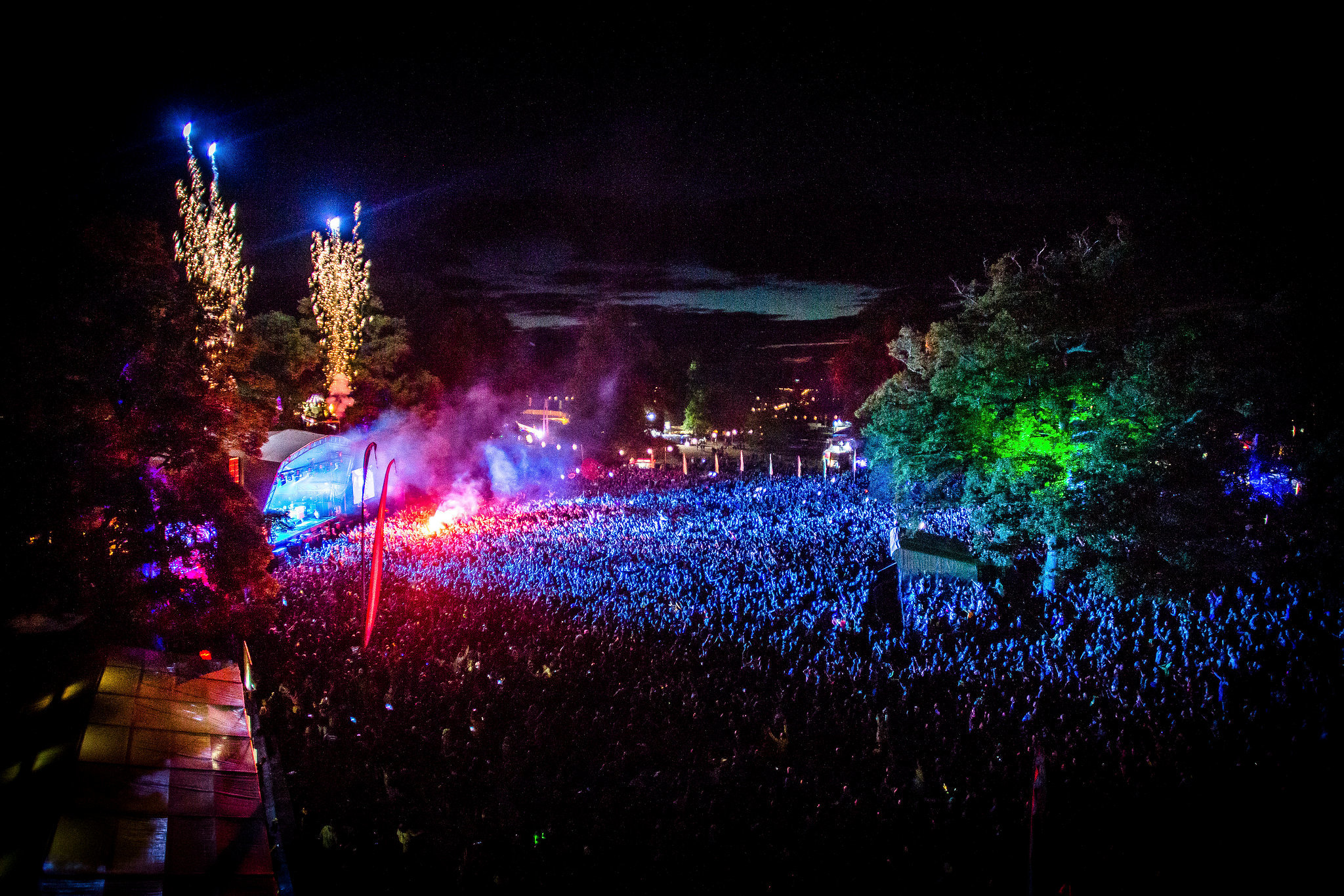 The main stage at Kendal Calling. Credit: Scott Sal