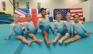 Grace, Aimee, Jaz, Gemma, Amy and Jayla Pic: Tony Cain