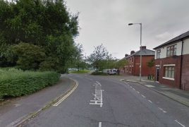 The victim was chased down Hartington Road Pic: Google