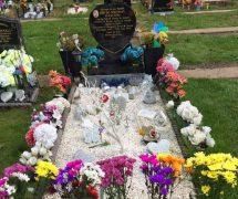Jon-Jo's grave at Ribbleton Cemetery