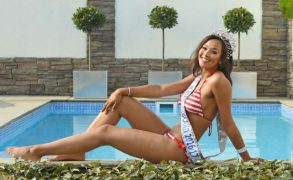 Lizzie will compete for England at Miss World in the Autumn Pic: Colin Lane