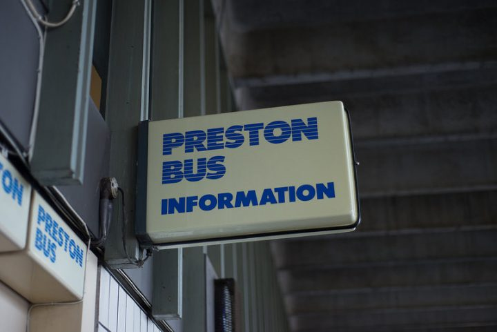 The bus company posted a notice about disruption late on Sunday night Pic: Joe Hayhurst