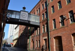 The former Booths offices in Glover's Court and facing into Fishergate Pic: Tony Worrall