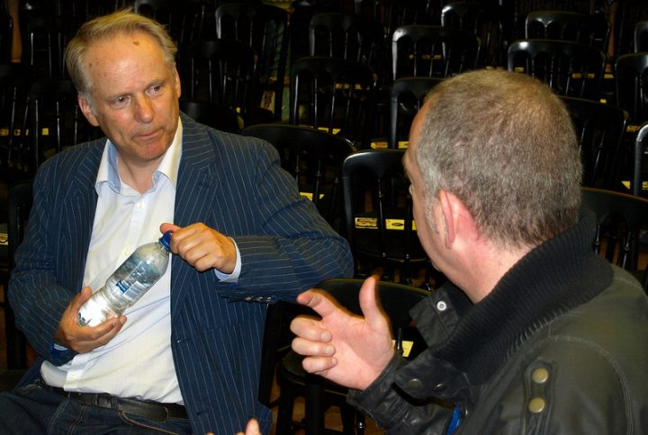 Nick Park in conversation at the 2012 Preston Guild Pic: Tony Worrall