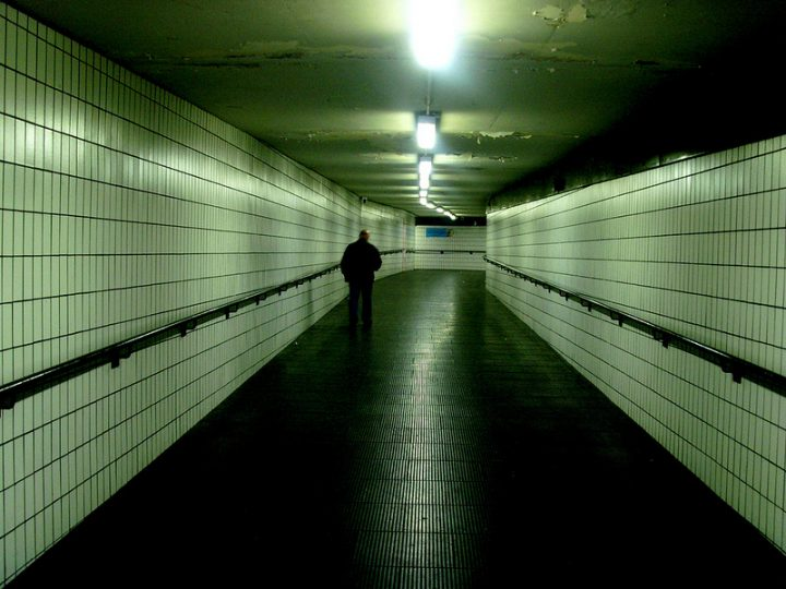 A walk through the Bus Station subways could soon be a thing of the past Pic: Tony Worrall