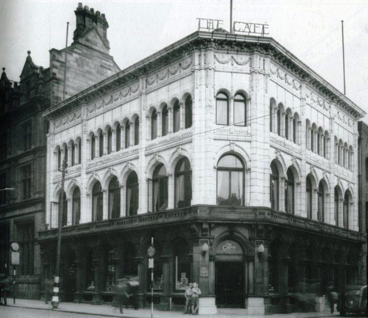 E.H. Booths grocers and café. 3-5 Fishergate, Preston c.1935 Pic: Preston Digital Archive
