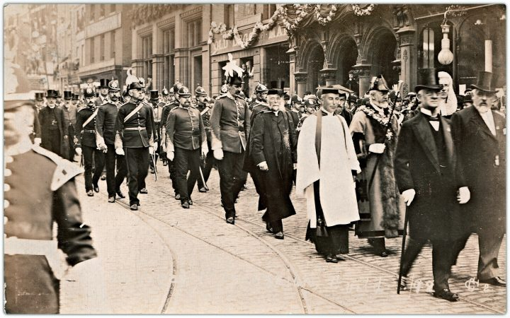 Mayoral Procession, Fishergate, 1902 Preston Guild. Pic: Preston Digital Archive