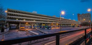 Expect the Bus Station to have better lighting after the revamp Pic: Sonia Bashir
