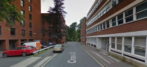 The two county offices line Cross Street Pic: Google