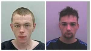 Daniel Ross and Carl Atkinson's pictures have been released by police in connection with the appeal