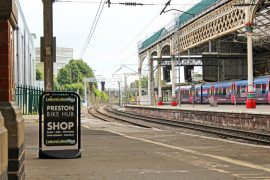 The bike hub will be accessible direct from the platforms at Preston Station