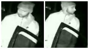 Police would like to speak to this man in connection with the incident