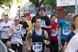 You can wear headphones but runners are advised not to Pic: Paul Melling