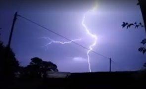 Still taken from Stephen Melling's thunder video
