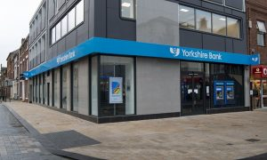 The new Yorkshire Bank in Fishergate