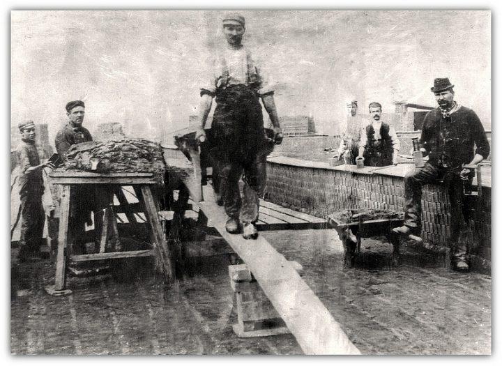 JJ Toppings Brickworks, London Road, circa 1887 Pic: Preston Digital Archive