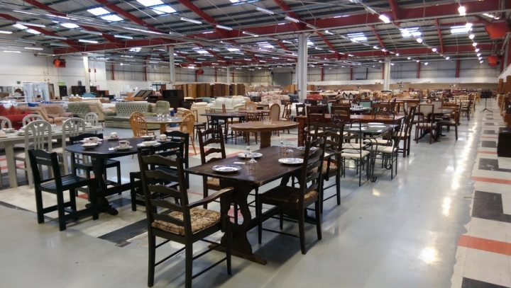 exploring inside the uk s largest charity shop in preston. Black Bedroom Furniture Sets. Home Design Ideas