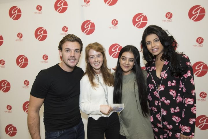 nathan-and-cara-with-cash-prize-winner-katie-cross-from-lostock-hall-and-friend-yasmin-ishaq