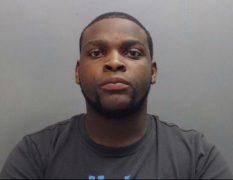 Renelle David Carlisle was found acting suspiciously near the prison in Warrington