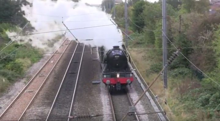 The Flying Scotsman in Fulwood