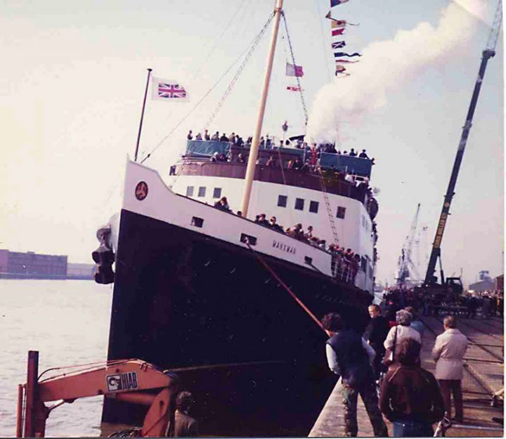 "S.S. Manxman, an ex Isle of Man passenger ferry was brought tp Preston by local businessman Tony Gornall. At the time, the river was shallow and the channel hard to navigate but with the assistance of local business and sailing enthusiast Chris MIller, she was brought safely to the town where she spent several years as a floating disco and restuarant complex. In 1983 the Manxman also formed the focus of the ""Aquaganza"", a festival of marina and related activity designed to showcase the derelict port's potential for leisure activity. Chris MIller, a promoter of the event went on to develop his ideas for yachting at the site, going on to create PrestonMarina in 1988."