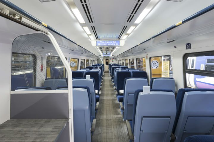Inside the new look Northern carriages