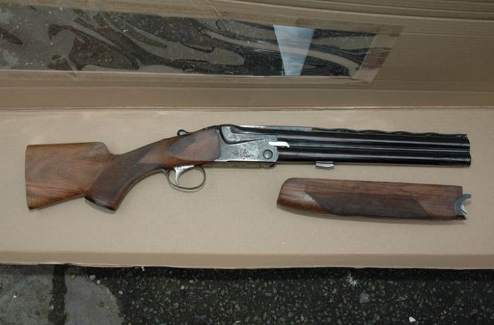 Shotgun recovered by police in Liverpool