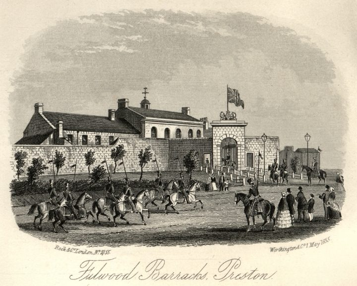 Fulwood Barracks by By Charles Hardwick 1857