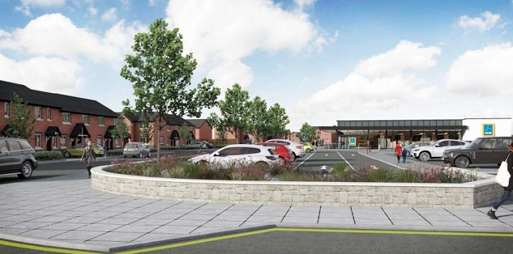 Another view of the proposed Aldi store