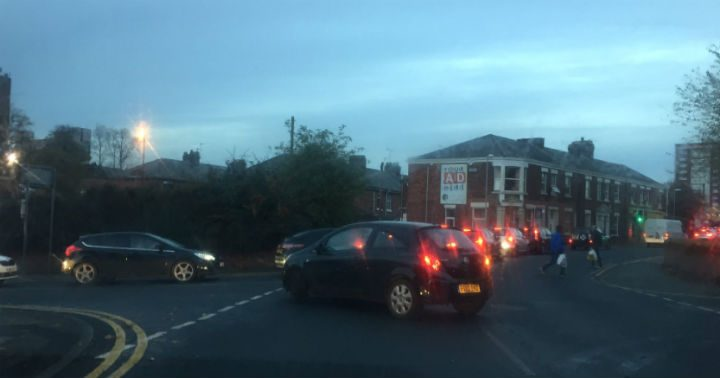 Motorists are facing length delays around Avenham and Frenchwood's streets Pic: Grace Raines