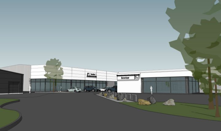 How the new 30-ramp aftersales centre will look