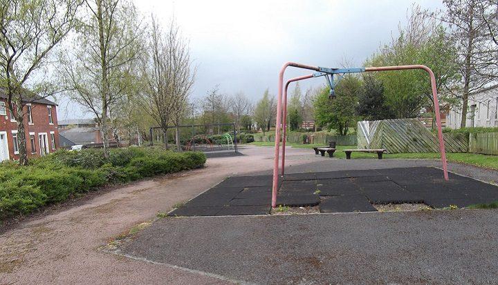 How Euston Street's old swings look