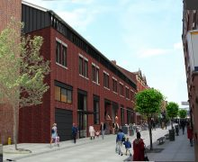 An artist impression for how the warehouse may look once converted