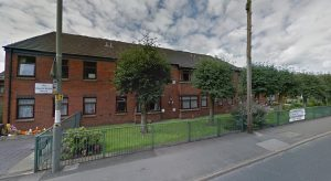 Penwortham fire crew were called to one of the flats at Churchbrook House Pic: Google