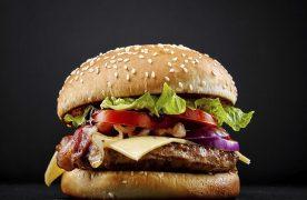 One of MUMU's burgers