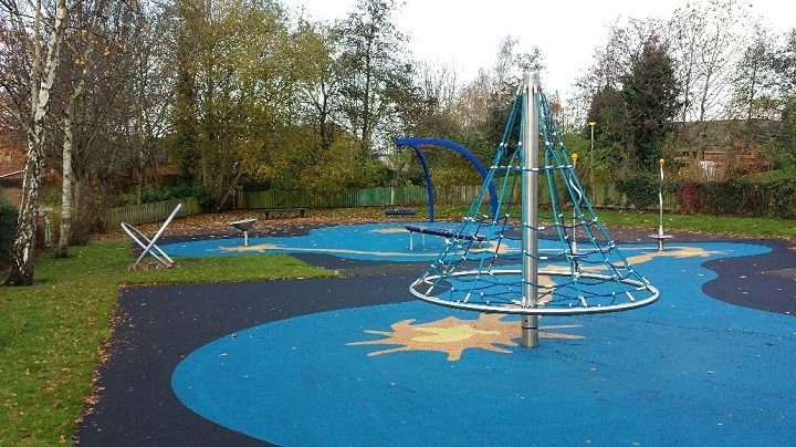 How part of the new play area looks