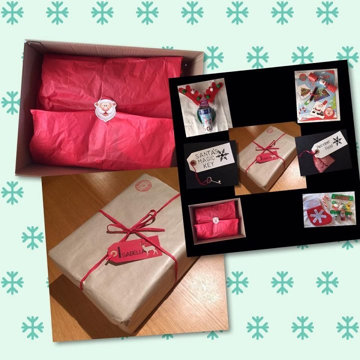 Some of the Christmas party packs