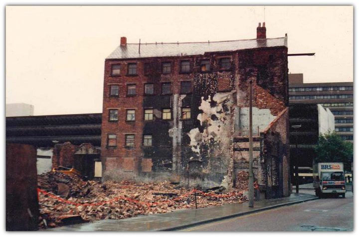 Lord Street demolitions in 1983 Pic: Derek Stevens/Preston Digital Archive