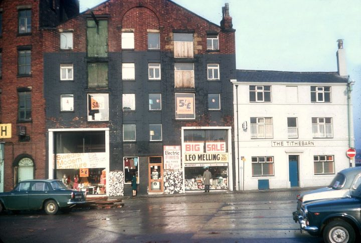 Furniture store in 1968 Pic: Beth Hayes/Preston Digital Archive