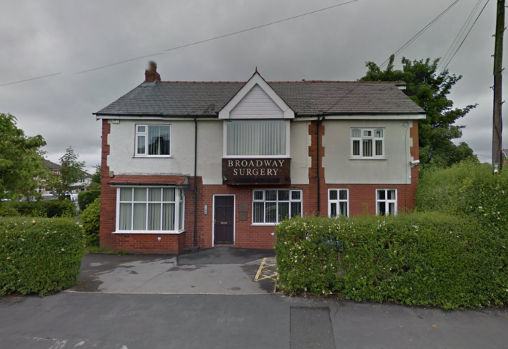 Broadway Surgery was rated 'inadequate' Pic: Google