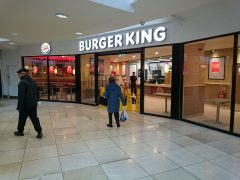 The new Burger King in the St George's Shopping Centre Pic: Leonie Greaves