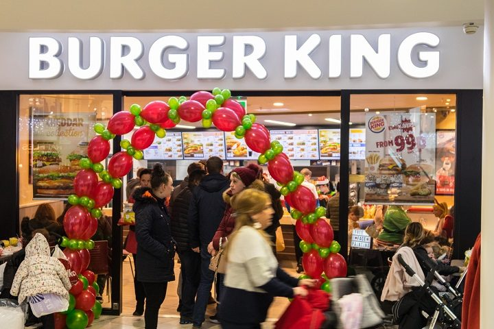 Burger King's official opening in St George's Shopping Centre