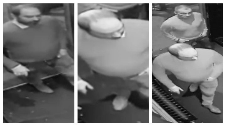 CCTV pictures released by police after the incident in Hogarths
